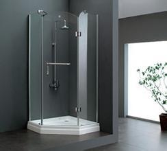 卫浴产品挑选 小心钢化玻璃